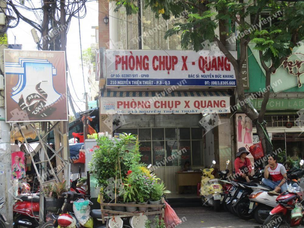 Phòng chụp X-Quang - Cổng chính
