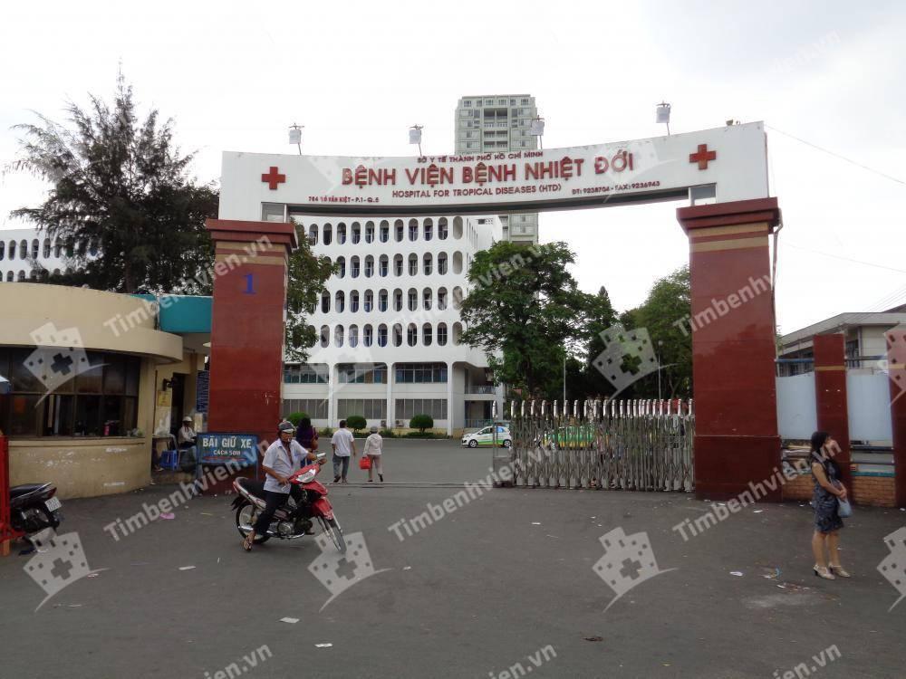 Bệnh Viện Bệnh Nhiệt Đới - Cổng chính