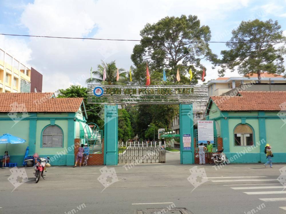 Bệnh Viện Phạm Ngọc Thạch - Cổng chính