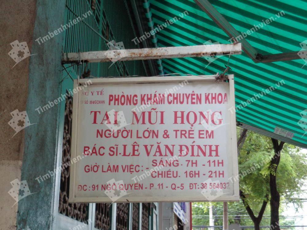Bác Sĩ Lê Văn Đính - Khoa Tai Mũi Họng