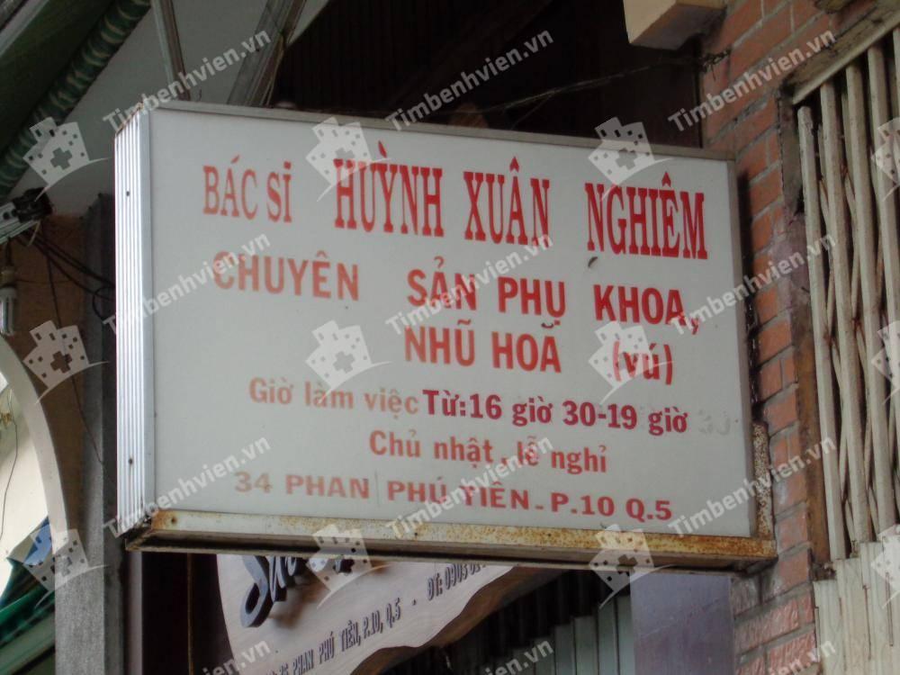 Bác Sĩ Huỳnh Xuân Nghiêm - Khoa Sản