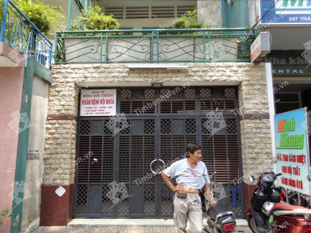 Bác Sĩ Đinh Sơn Thắng - Khoa Nội Tổng Quát - Cổng chính
