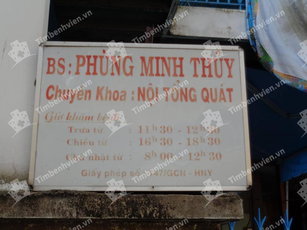 Bác Sĩ Phùng Minh Thủy - Khoa Nội Tổng Quát