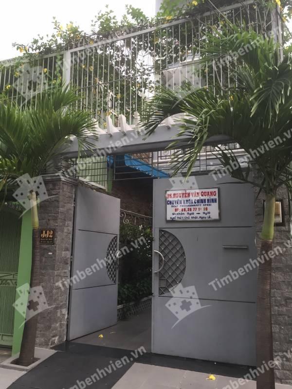 Bác Sĩ Nguyễn Văn Quang - Khoa Chỉnh Hình - Cổng chính