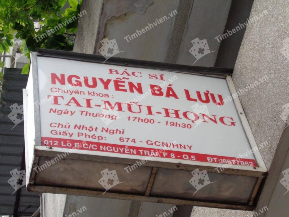Bác Sĩ Nguyễn Bá Lưu - Khoa Tai Mũi Họng