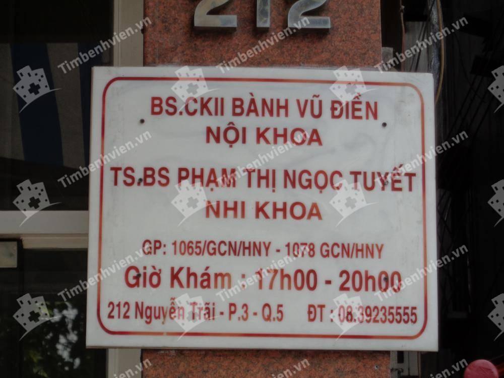 Phòng Khám Chuyên Khoa Nhi - BS Phạm Thị Ngọc Tuyết
