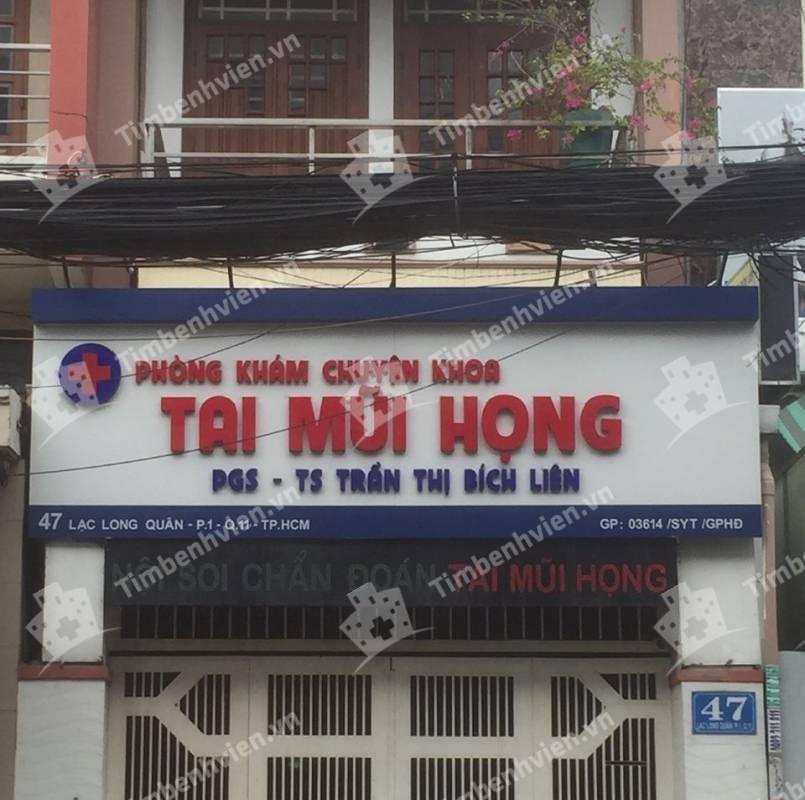 Phòng Khám Chuyên Khoa Tai Mũi Họng - BS. Trần Thị Bích Liên