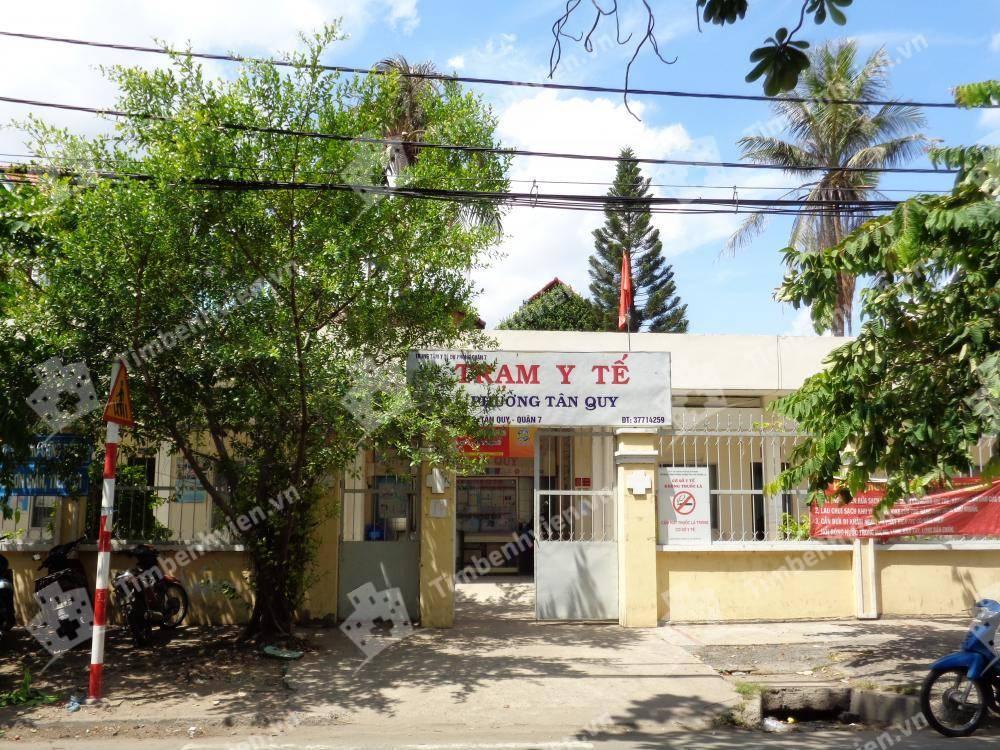 Trạm Y Tế Phường Tân Quy - Cổng chính