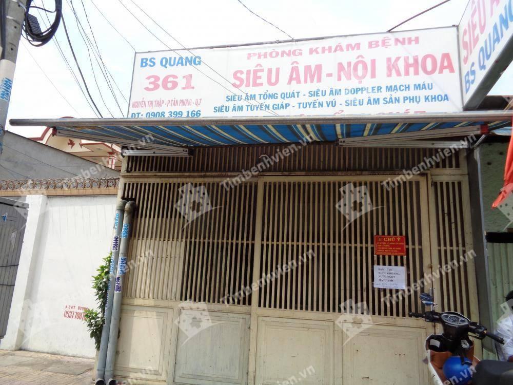 Phòng Khám Nội Khoa & Siêu Âm - BS Quang
