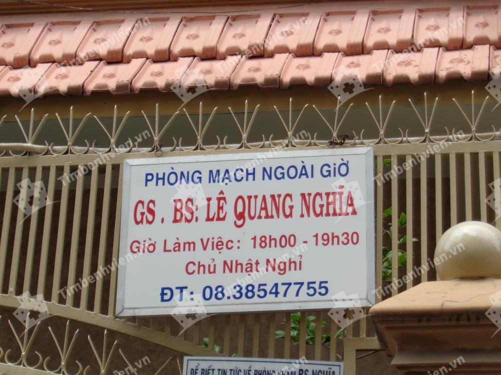 Bác Sĩ Lê Quang Nghĩa - Khoa Nội Tổng Quát