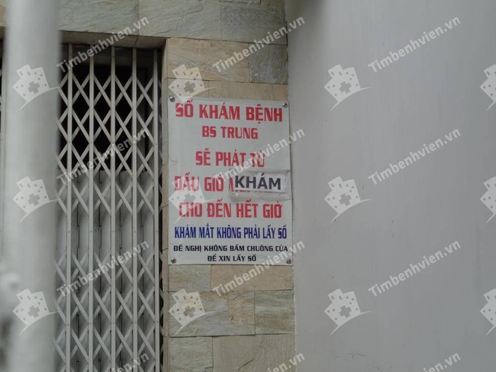 Phòng Khám Nội Khoa & Ung Bướu - BS. Nguyễn Sào Trung