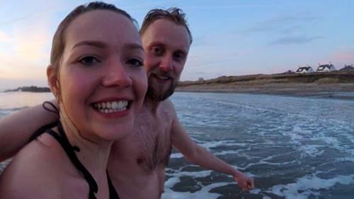 Bơi trong nước lạnh 100 ngày để chữa đau đầu
