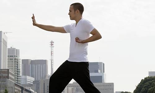 Áp dụng thái cực quyền vào tập gym