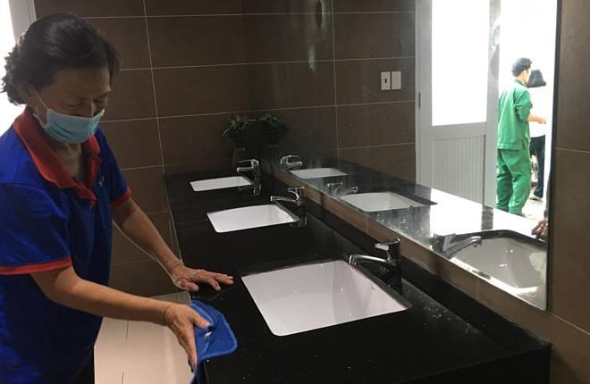 Người bệnh TP HCM hài lòng hơn với nhà vệ sinh bệnh viện