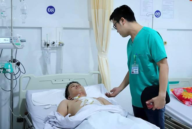 Cứu sống bệnh nhân bị kéo đâm thấu tim