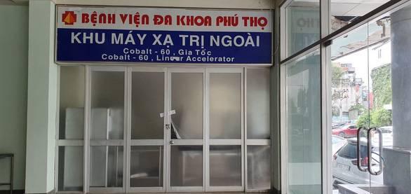 Di dời 2 nguồn phóng xạ nguy hiểm ở bệnh viện
